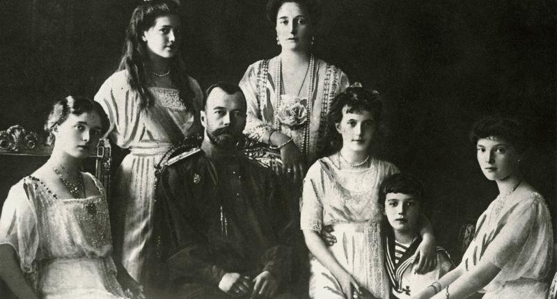 Die Romanows 1914